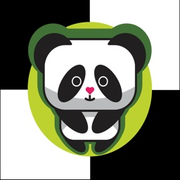 Panda Don't Step The White Water Tile - Do Walk On the Bamboo Tiles!