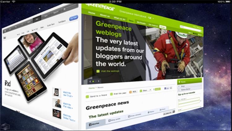 3D Web Browser HD screenshot-4