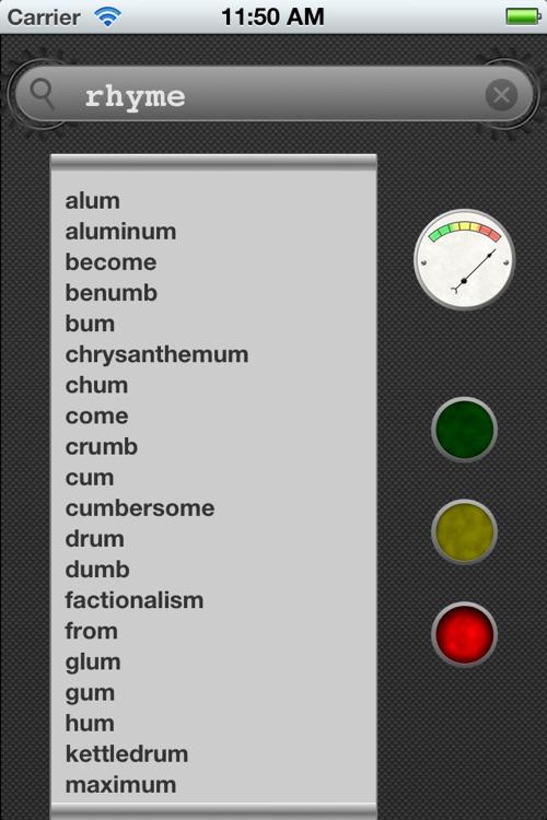 Rhyme Machine screenshot-3