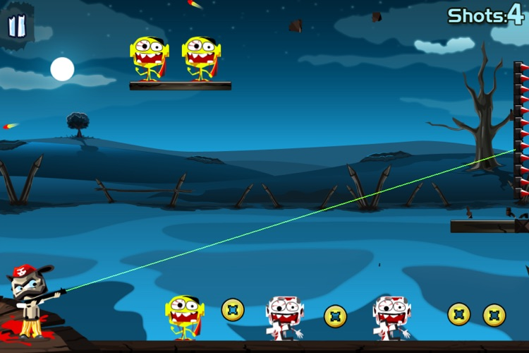 X Zombies Lite screenshot-4