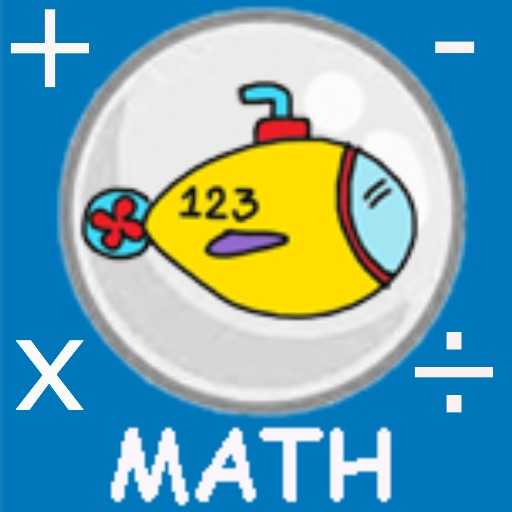 submarine math icon