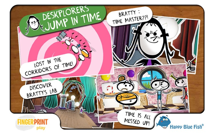 Jump in Time   (The Deskplorers - History Book - for 7 to 11 yo kids)