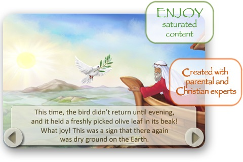 Bible Stories for Children: Noah's Ark screenshot-3