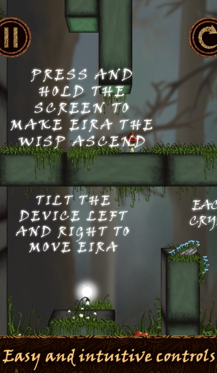 Wisp: Eira's tale - A casual and relaxing indie puzzle game inspired by nordic and celtic mythology