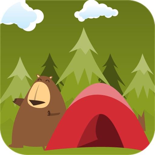 Peekaboo Camping HD - Hide and Seek Preschool fun