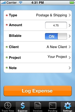 Screenshot of Smart Invoice