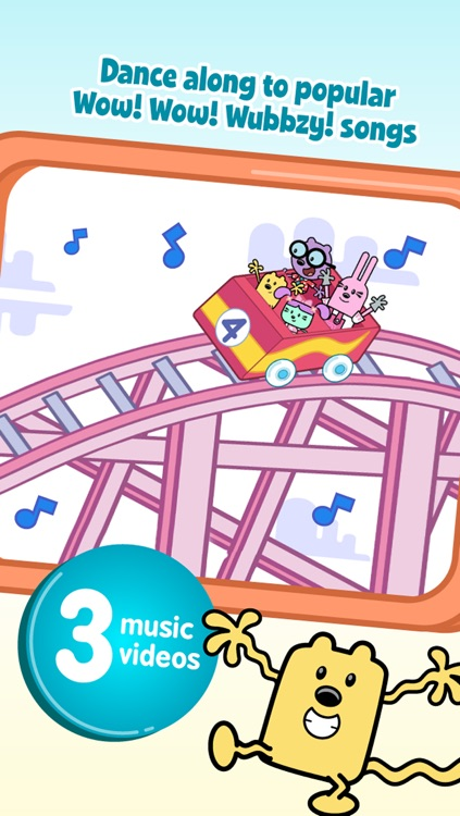 Wubbzy's Train Adventure screenshot-3