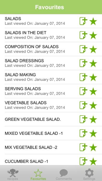 Fresh Salad Recipes screenshot-3