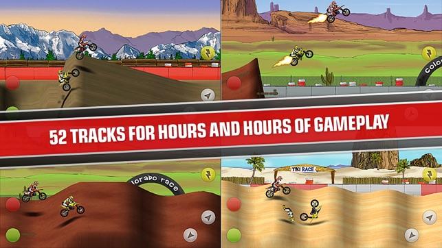 Mad Skills Motocross Screenshot