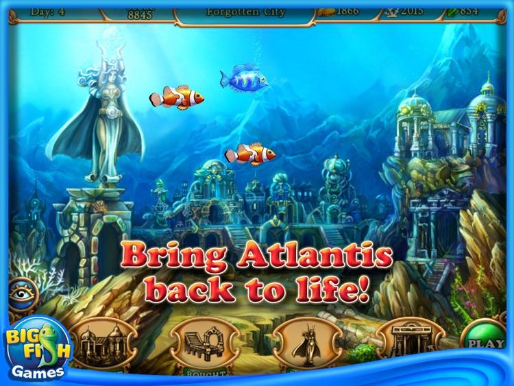 Hidden Wonders of the Depths 3: Atlantis Adventures HD (Full) screenshot-4