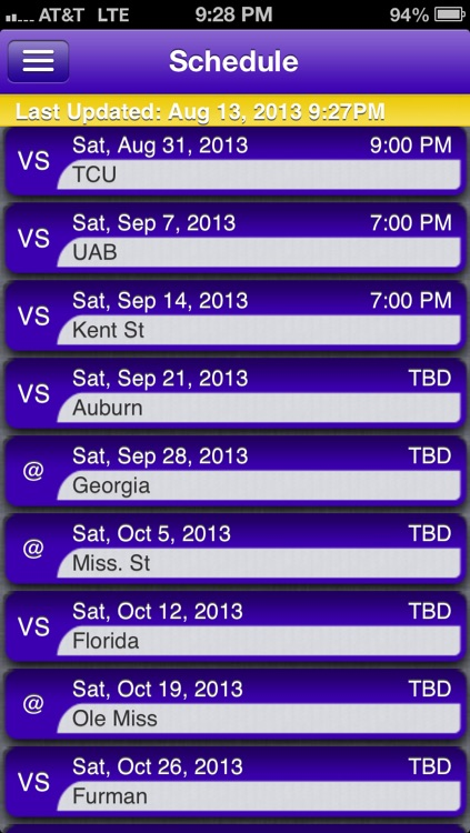 LSU Football Live screenshot-2