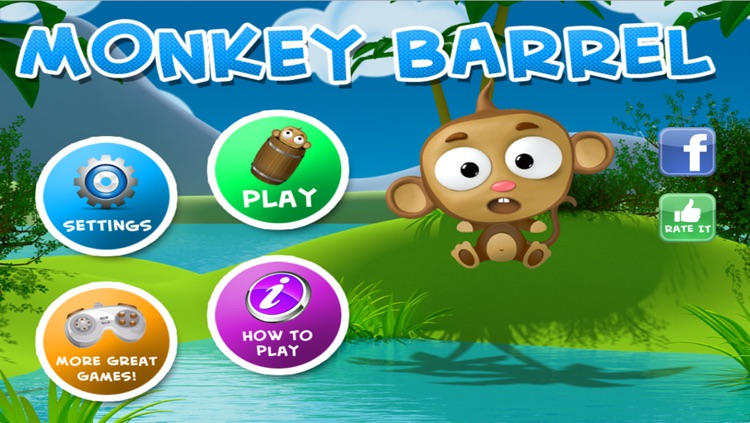 Monkey Barrel Game - Blast the Monkeys screenshot-3