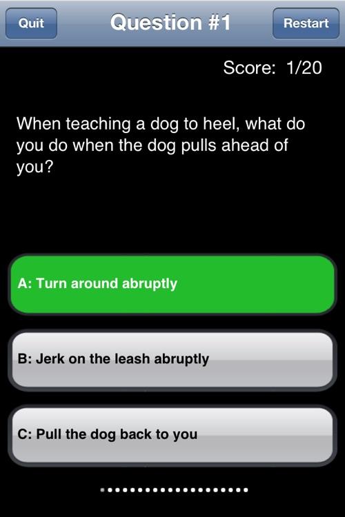Dog Training screenshot-3
