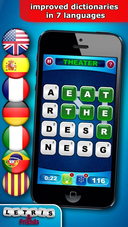 Letris & Friends: Word puzzle game