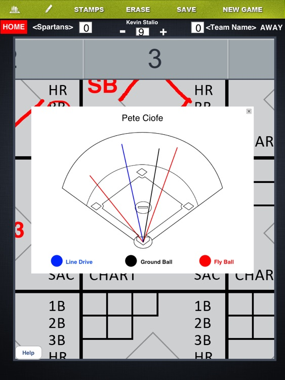 Baseball Scorebook screenshot-2