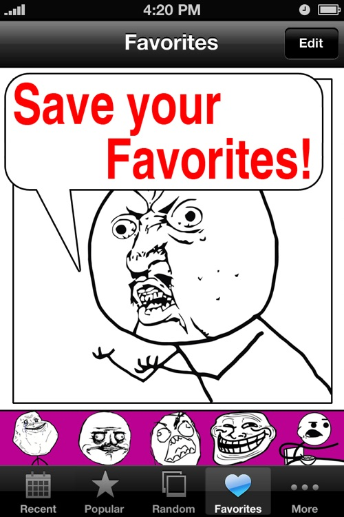 Rage Comics. screenshot-4