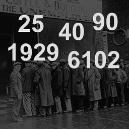Great Depression Numbers