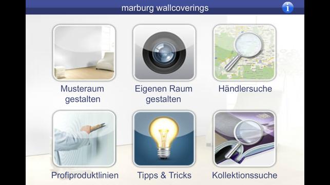 marburg tapeten im app store. Black Bedroom Furniture Sets. Home Design Ideas