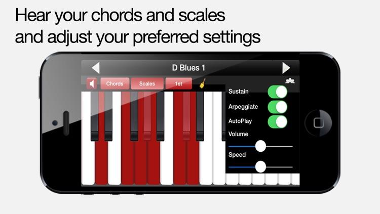 Piano Chords & Scales Free screenshot-4