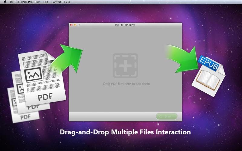 PDF-to-EPUB Pro Screenshot