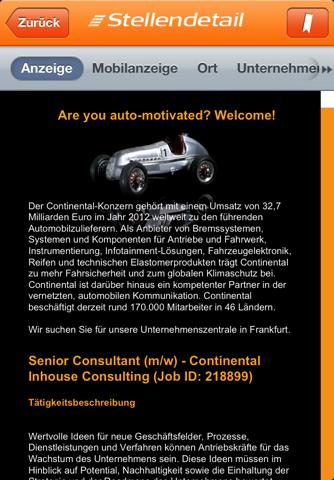 Скриншот из JobStairs - Jobsuche
