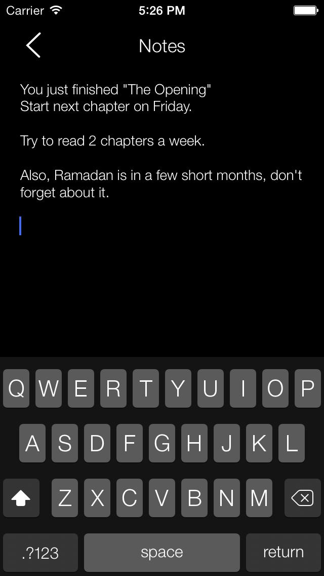 Clear Quran screenshot three
