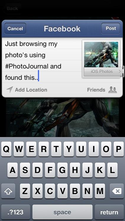 Photo Journals screenshot-4