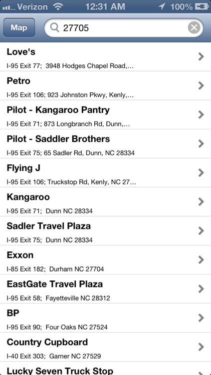 Truck Stops Finder screenshot-2