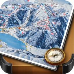 Les 2 Alpes Ski and Offline Map