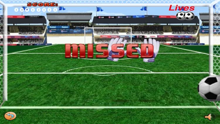 Euro Goal - Soccer Goalie Penalty Shootout screenshot-3