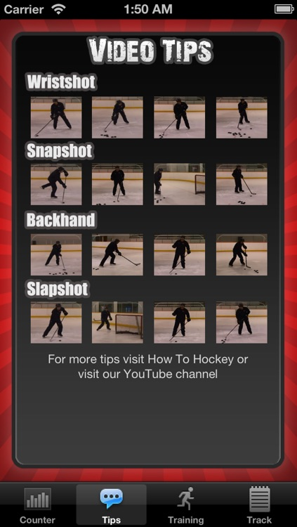 iSnipe Hockey Trainer screenshot-1