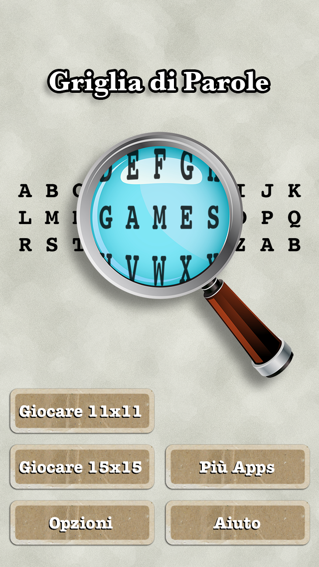 Griglia di Parole (Italian Word Search) Screenshot