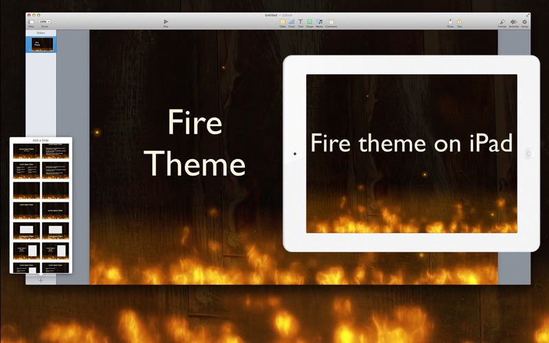 Action Themes for Keynote for Mac