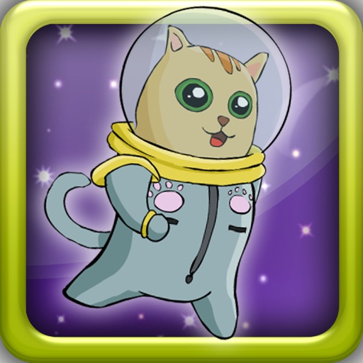 Astro Cat Jumping Space Game - Free Version