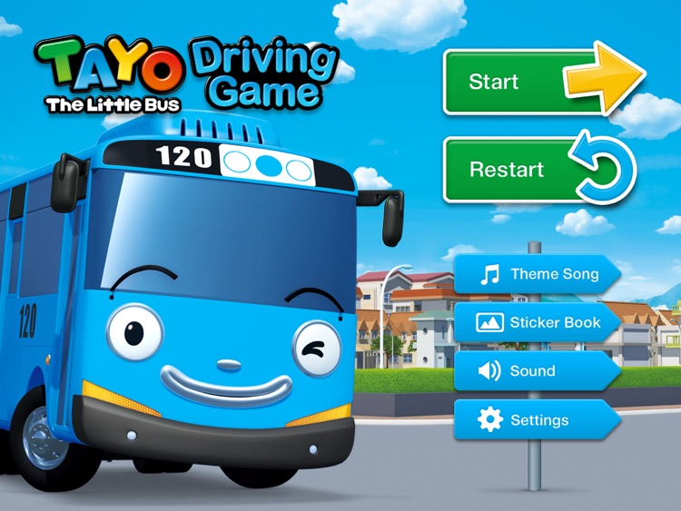 tayo driving game hd by iconix entertainment