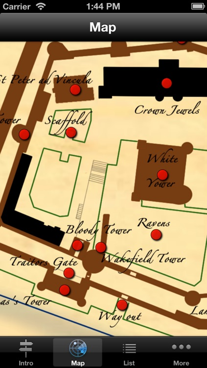Tower of London Audio Guide & Map