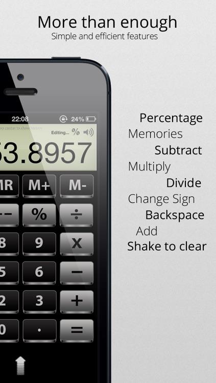 Calculator - The simplest, useful and elegant calculator screenshot-3