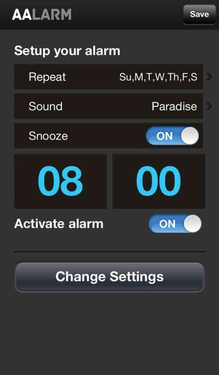 AALARM - Alcoholic Anonymous Alarm Clock and Daily Reflection