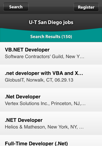 Screenshot of U-T Jobs