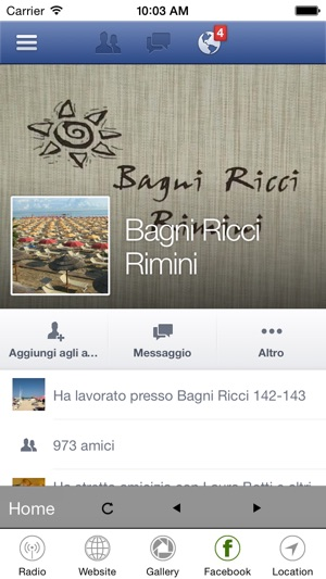 Bagni Ricci on the App Store