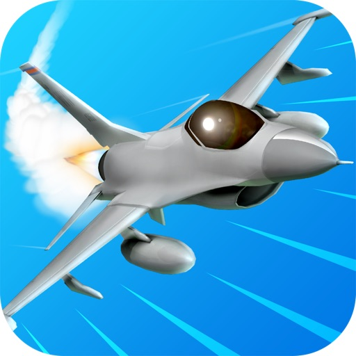 3D Jet Pilot Flight Simulator iOS App