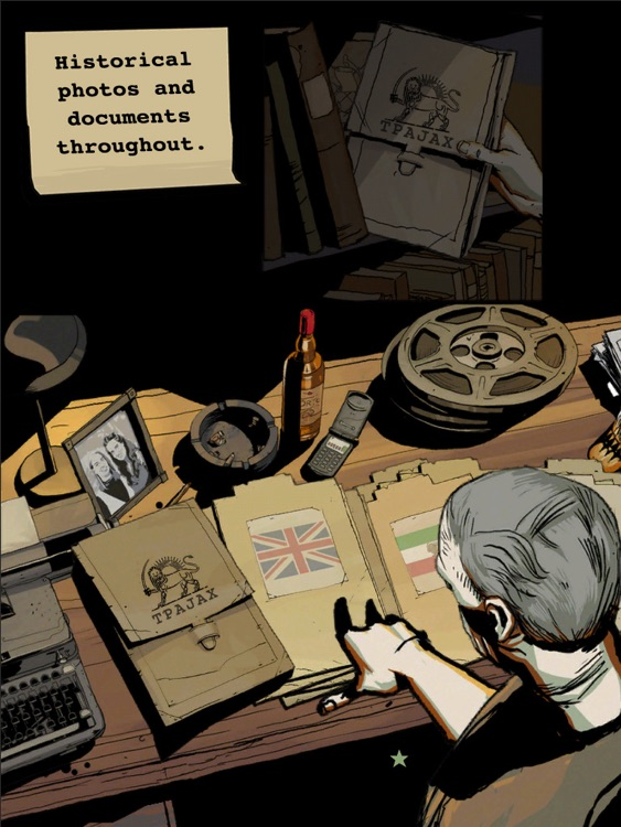 CIA : Operation Ajax the Interactive Graphic Novel for iPad screenshot-3