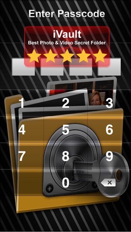 Vault* Free - Hidden Photo & Video Safe for iPhone, iPad & iPod Touch screenshot-0