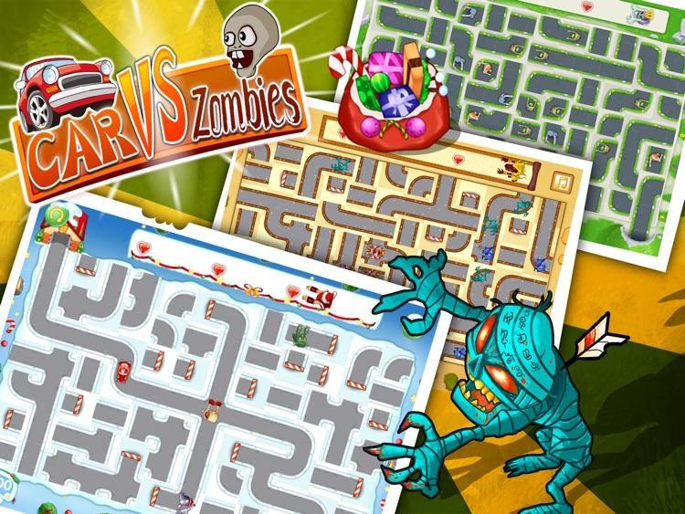 Car vs Zombies HD Free screenshot-3