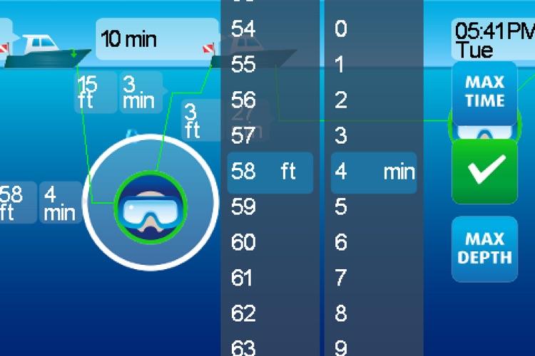 DiveMax AIR Dive Planner screenshot-3