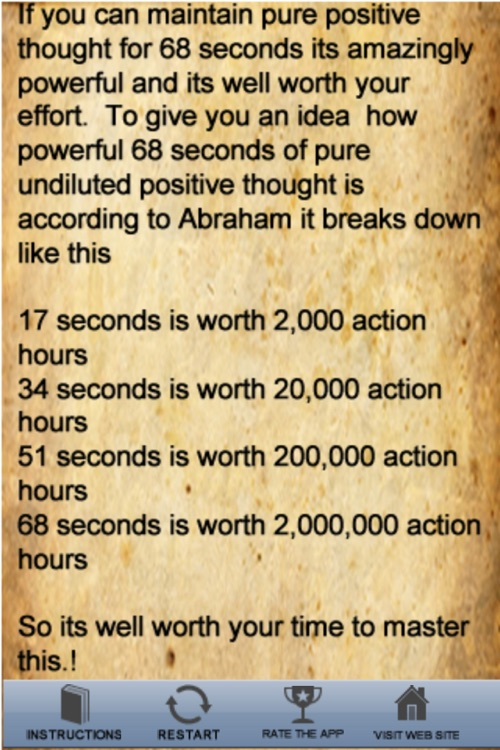 Law Of Attraction Timer