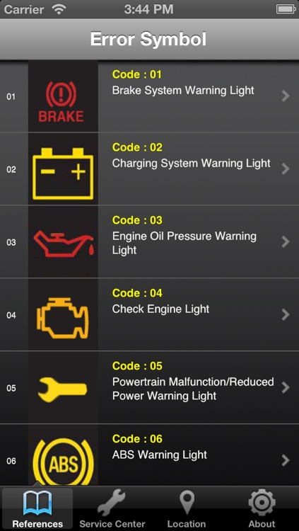 Mazda Warning Light screenshot-0