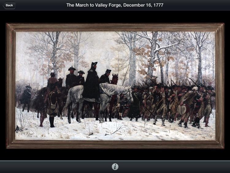 American Revolution Interactive Timeline for iPad screenshot-3