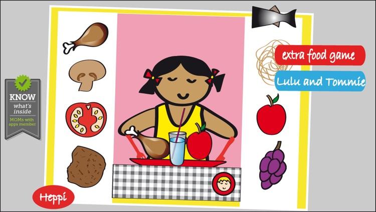 Bo's Dinnertime Story - FREE Bo the Giraffe App for Toddlers and Preschoolers! screenshot-3