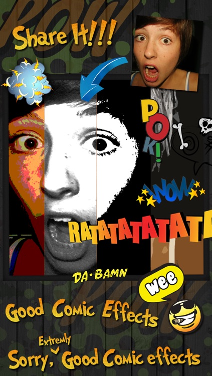 Comic Frames- Comic Photo Effects & Editor screenshot-4